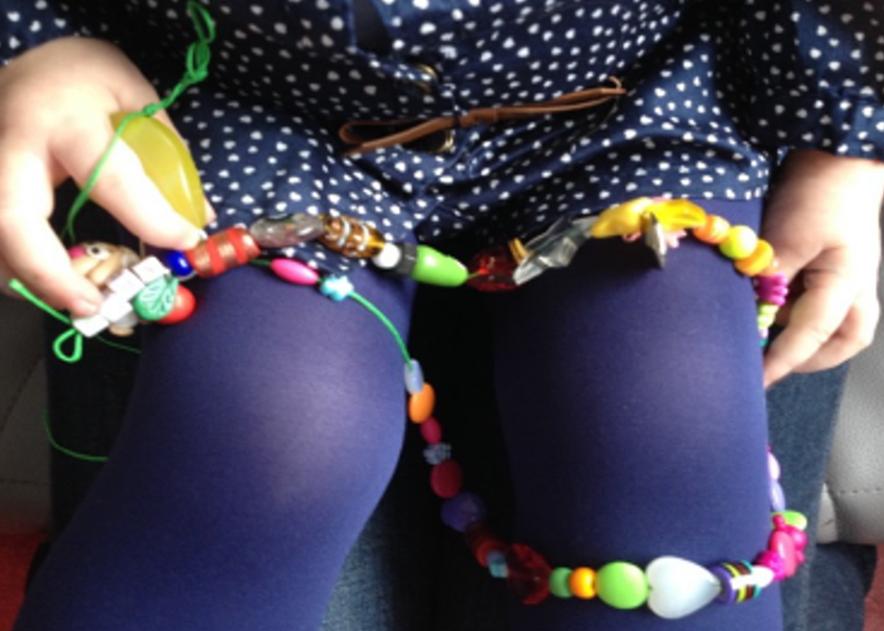perles genoux